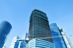多层的楼房建筑 库存照片