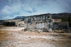 多山风景在安纳托利亚,土耳其 库存照片