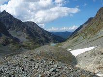 多山高kuiguk的湖 免版税库存照片
