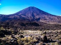 多山Tongariro横穿的惊人的看法,新西兰 库存图片