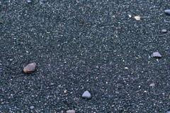 黑多岩石的海滩,新南威尔斯澳大利亚 库存照片