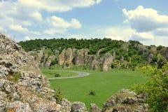 多布罗加峡谷 免版税库存照片
