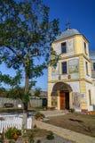 多布罗加,罗马尼亚- 10月16日:Sfantu Gheorghe,村庄的c 免版税库存图片