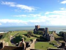 从多弗城堡的看法 免版税库存照片