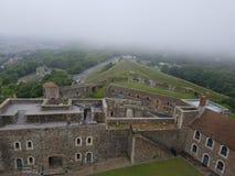 多弗城堡看法  图库摄影