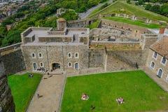 多弗城堡,多弗,肯特,英国- 2017年8月17日:从t的看法 免版税库存图片
