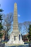 多弗巡逻纪念碑-布鲁克林,纽约 库存图片