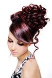 多彩多姿创造性的发型 图库摄影