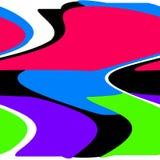 多彩多姿抽象的背景 库存图片