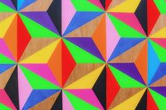 多彩多姿的三角 免版税库存照片