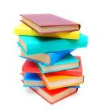 多彩多姿的书。 库存照片