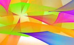 多彩多姿的传染媒介背景 梯度与例证斑点板材的摘要空间 样式可以为水色广告使用, 皇族释放例证