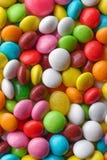 多彩多姿的圆的糖果 库存照片