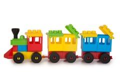 多彩多姿的塑料玩具 免版税图库摄影