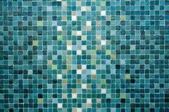 多彩多姿的小正方形铺磁砖抽象样式背景 免版税库存照片