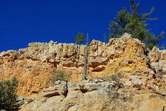 多彩多姿的峡谷,犹他 库存图片