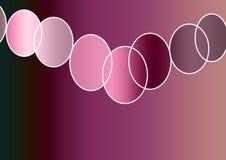 多彩多姿的抽象背景艺术设计美丽的横幅 向量例证