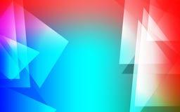 多彩多姿的抽象迷离背景墙纸 库存例证