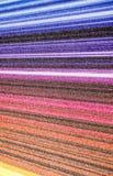 多彩多姿的数据条 库存照片
