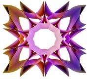 多彩多姿的方形的坛场被隔绝的设计元素 库存照片