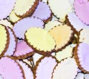 多彩多姿的曲奇饼 库存图片