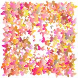 多彩多姿的桃红色和蓝色多角形万花筒摘要背景,盖子,包括三角结构  纹理, bac 图库摄影