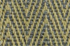 多彩多姿的棉花螺纹组织宏指令关闭 免版税库存图片