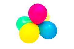 多彩多姿的气球 免版税库存照片