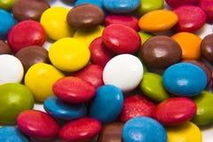多彩多姿的焦糖 库存图片