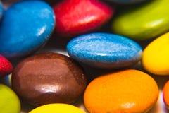 多彩多姿的焦糖 库存照片