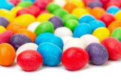从多彩多姿的甜糖果的背景 库存照片