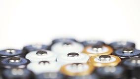 多彩多姿的电池 股票视频
