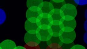 多彩多姿的眨眼睛光6 库存例证