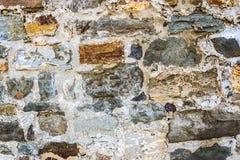 多彩多姿的石头墙壁  免版税库存图片