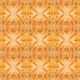 多彩多姿的花卉漩涡装饰背景 免版税库存照片