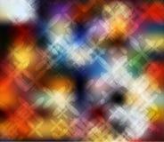 多彩多姿的被弄脏的背景摘要设计 库存图片