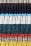 多彩多姿的被编织的fabrick 库存图片