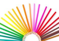 多彩多姿的铅笔 库存图片