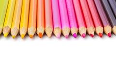 多彩多姿的铅笔 免版税图库摄影