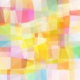 多彩多姿的马赛克映象点  向量例证