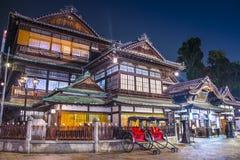 多戈Onsen在松山,日本 图库摄影