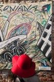 多扎imolese壁画 库存照片