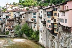 多数美丽的村庄在普罗旺斯 库存图片