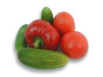 多数自然蔬菜 免版税库存图片