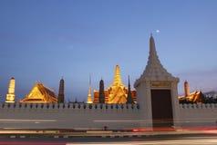 多数著名寺庙在曼谷 免版税库存照片