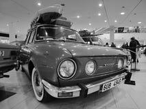 多数,捷克共和国- 2017年3月18日:斯柯达110L 1976年在百货商店 免版税库存照片