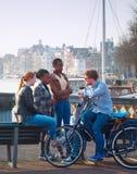 多文化阿姆斯特丹 免版税库存图片