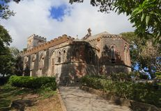 巴巴多斯:圣约翰斯教区教堂 免版税库存图片