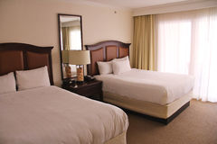 多明戈旅馆客房santo 库存图片