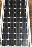 多晶的太阳电池板绿色 库存图片